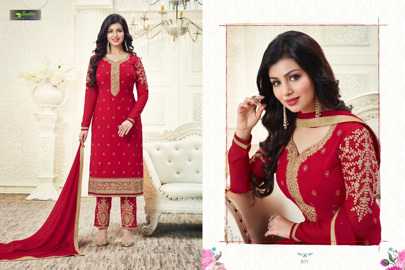 Adaa – Exclusive Straight Designer Embroidery Salwar Kameez