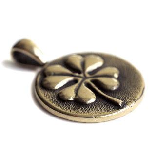 кулон лист клевер сувенир купить  кельтские обереги купить интернет магазин опт