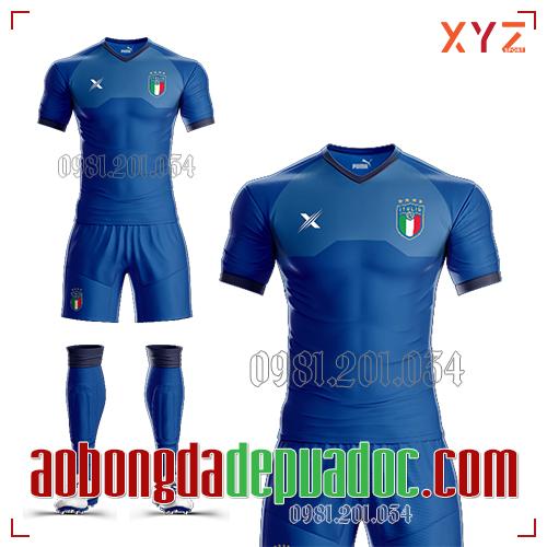Áo Đội Tuyển Ý 2019 Màu Xanh