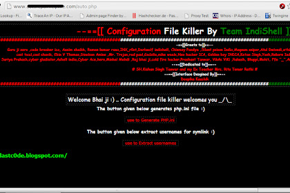 Auto Config dan Folder Symlink