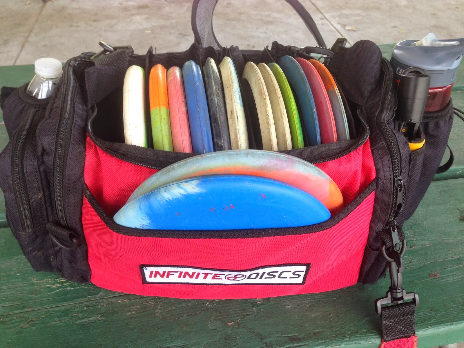 It took me some time to get use throwing vibram golf discs there are that  really like where think the rubber makes better also disc test lab only bag rh discgolftestsspot