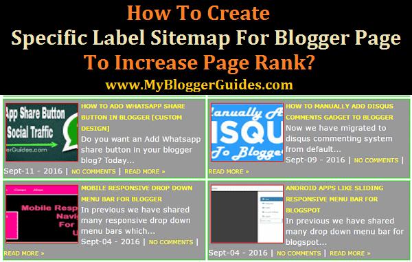 Specific Label Sitemap, Particular Label Sitemap, Sitemap Page With Specific Label