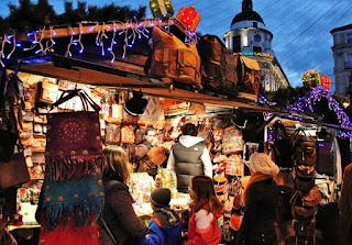 mercados de navidad en España