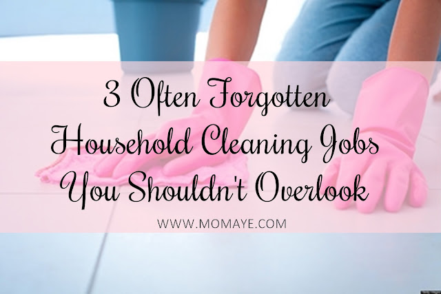 3 Often Forgotten Household Cleaning Jobs You Shouldn't Overlook, home, home and living, household cleaning jobs, cleaning, home cleaning, home tips,