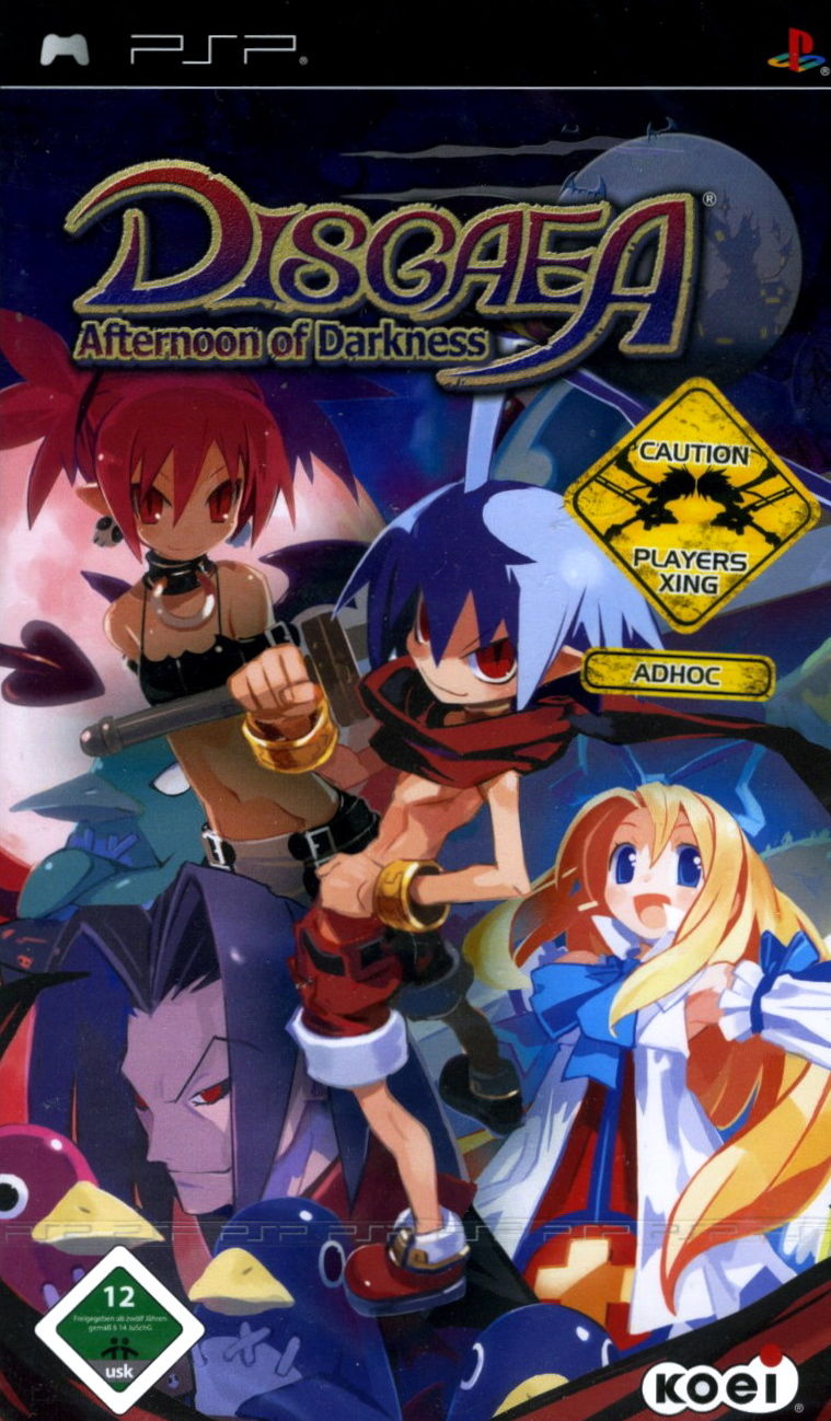 Disgaea - Afternoon of Darkness - PSP - ISO Download