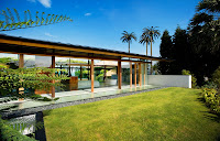 green concept of contemporary house