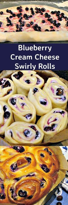 Blueberry Cream Cheese Swirly Bread. Serious Soft, Sticky, Creamy Yummy! Happy Baking!