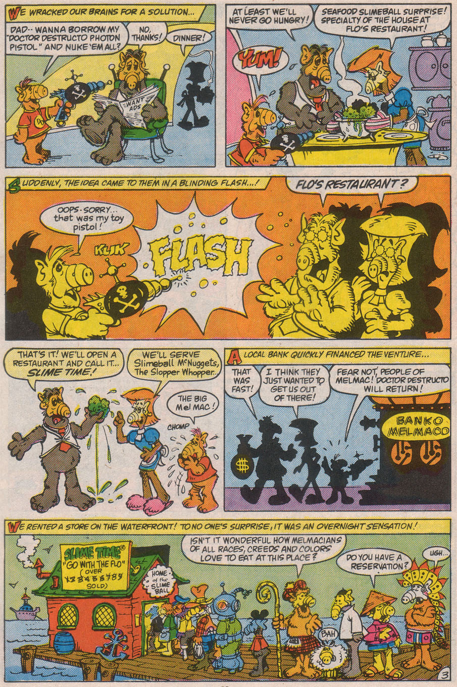 Read online ALF comic -  Issue #8 - 22