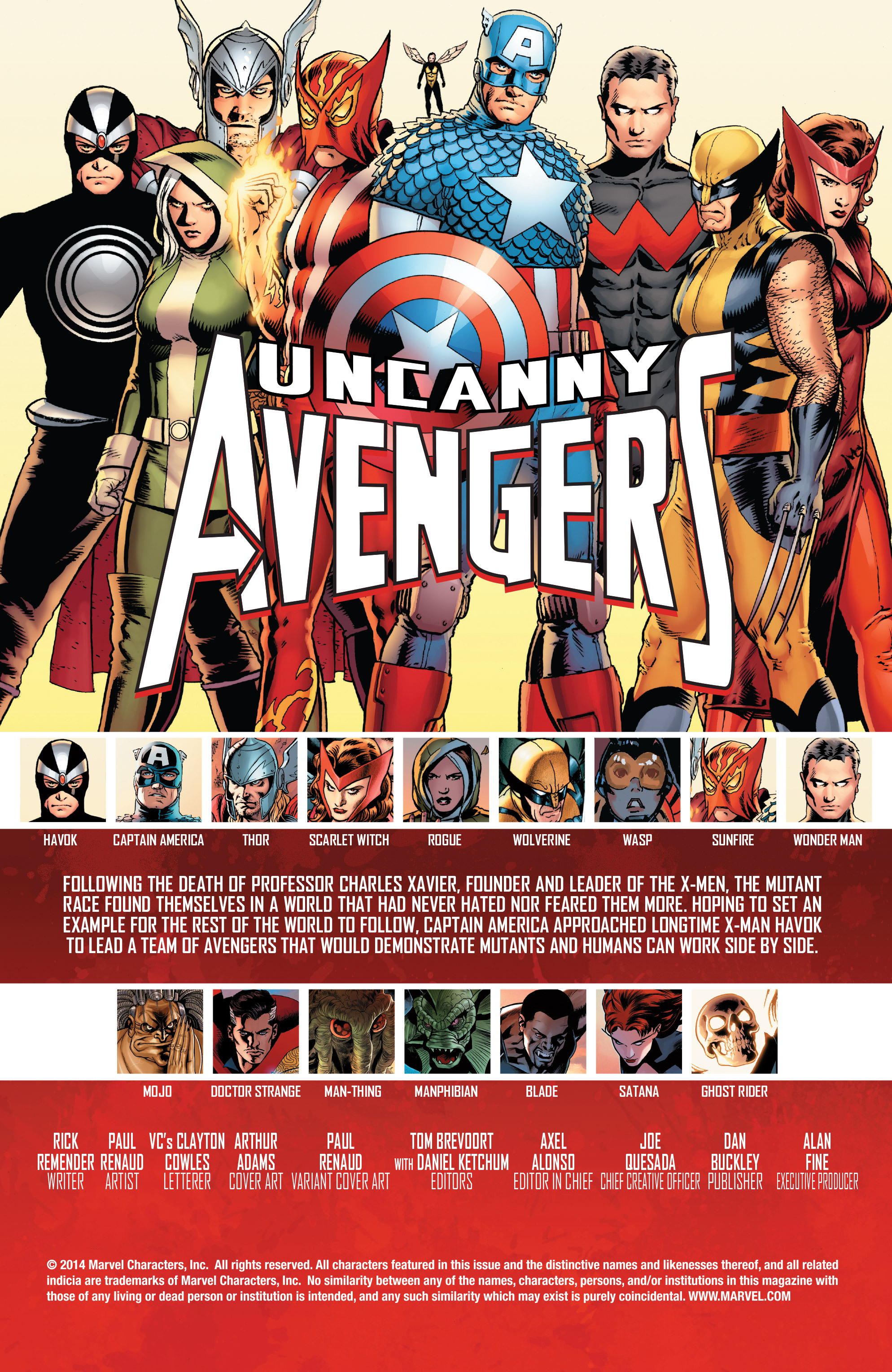 Read online Uncanny Avengers (2012) comic -  Issue # Annual 1 - 2