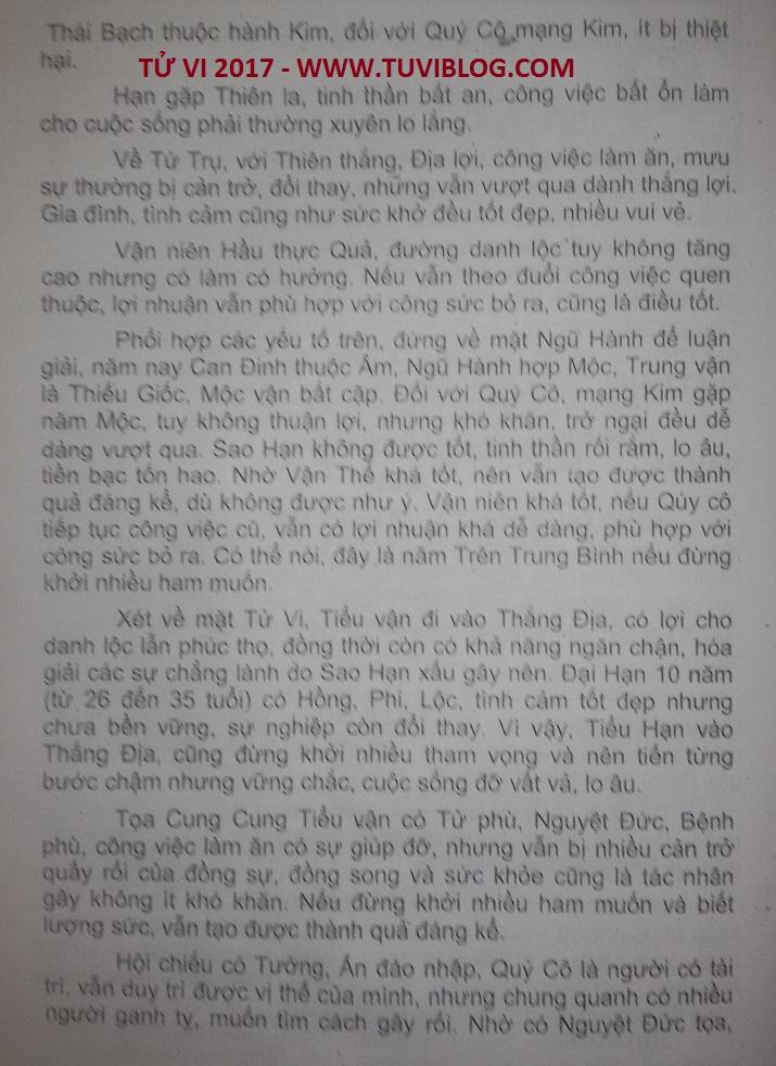Xem tuoi Nham Than nam 2017