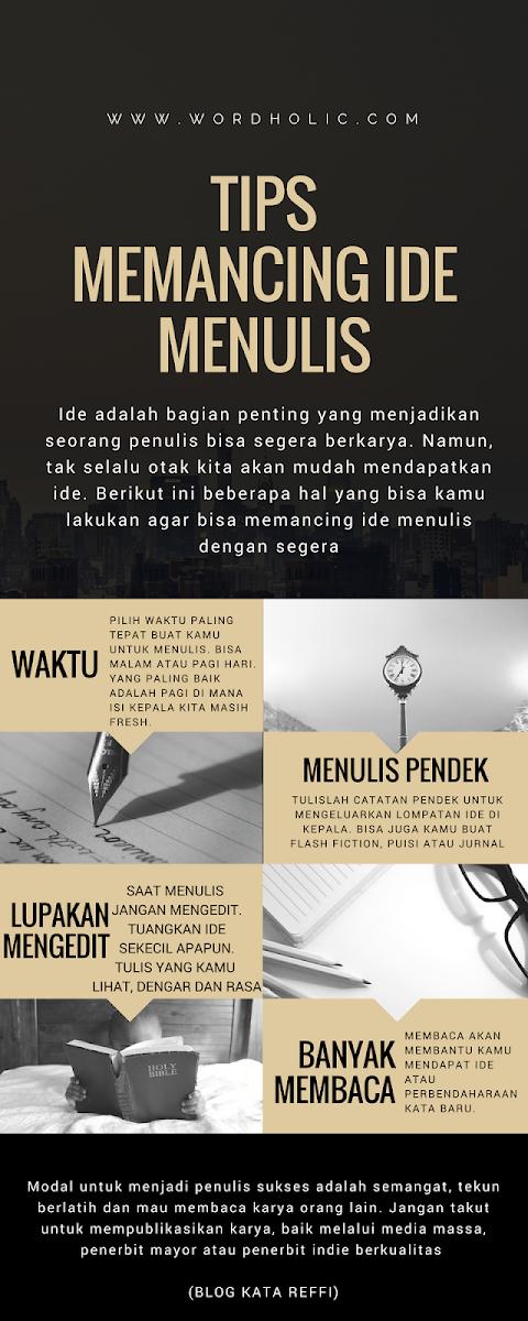 Tips Memancing Ide Menulis