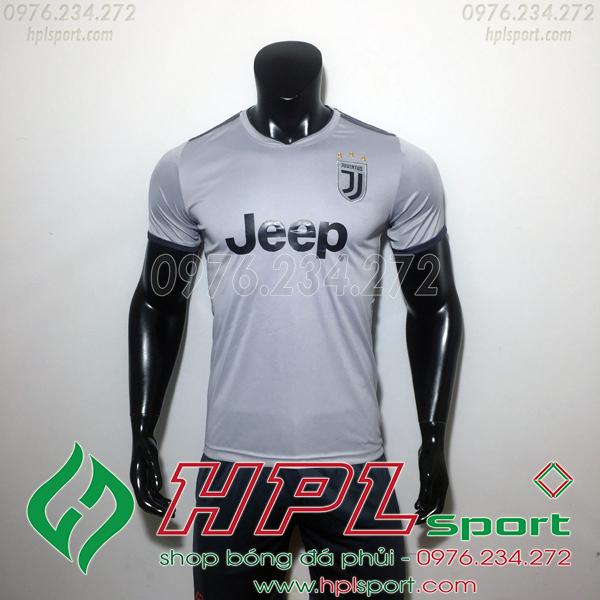 Áo đá bóng câu lạc bộ Juventus Xám 2019