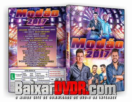 Modão 2k17 (2017) DVD-R
