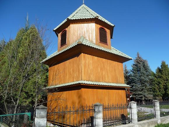 Верхні Гаї. Церква Пресвятої Трійці. Дзвіниця. 1910 р.