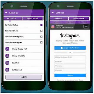 BBM MOD Smooth Purple APK V3.1.0.13 new update