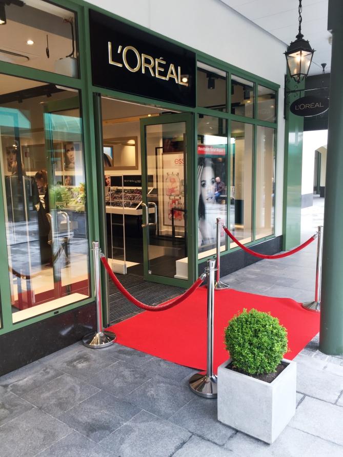 L'Oréal Boutique outlet McArthurGlen Luxembourg