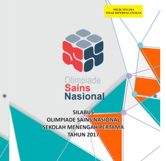 Download Juknis OSN 2018 PDF