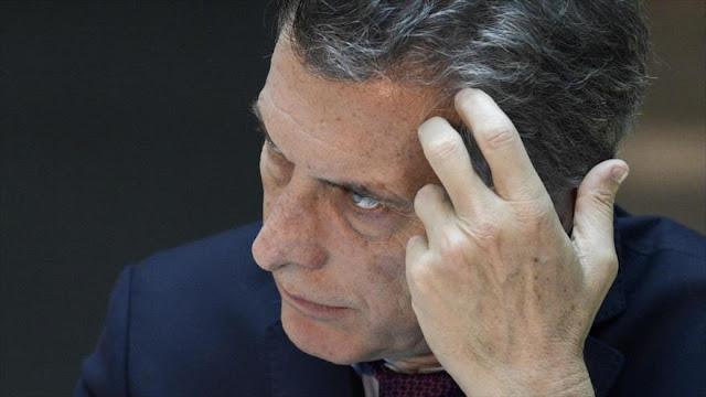 Popularidad de Macri en caída libre: 38% de argentinos lo aprueba