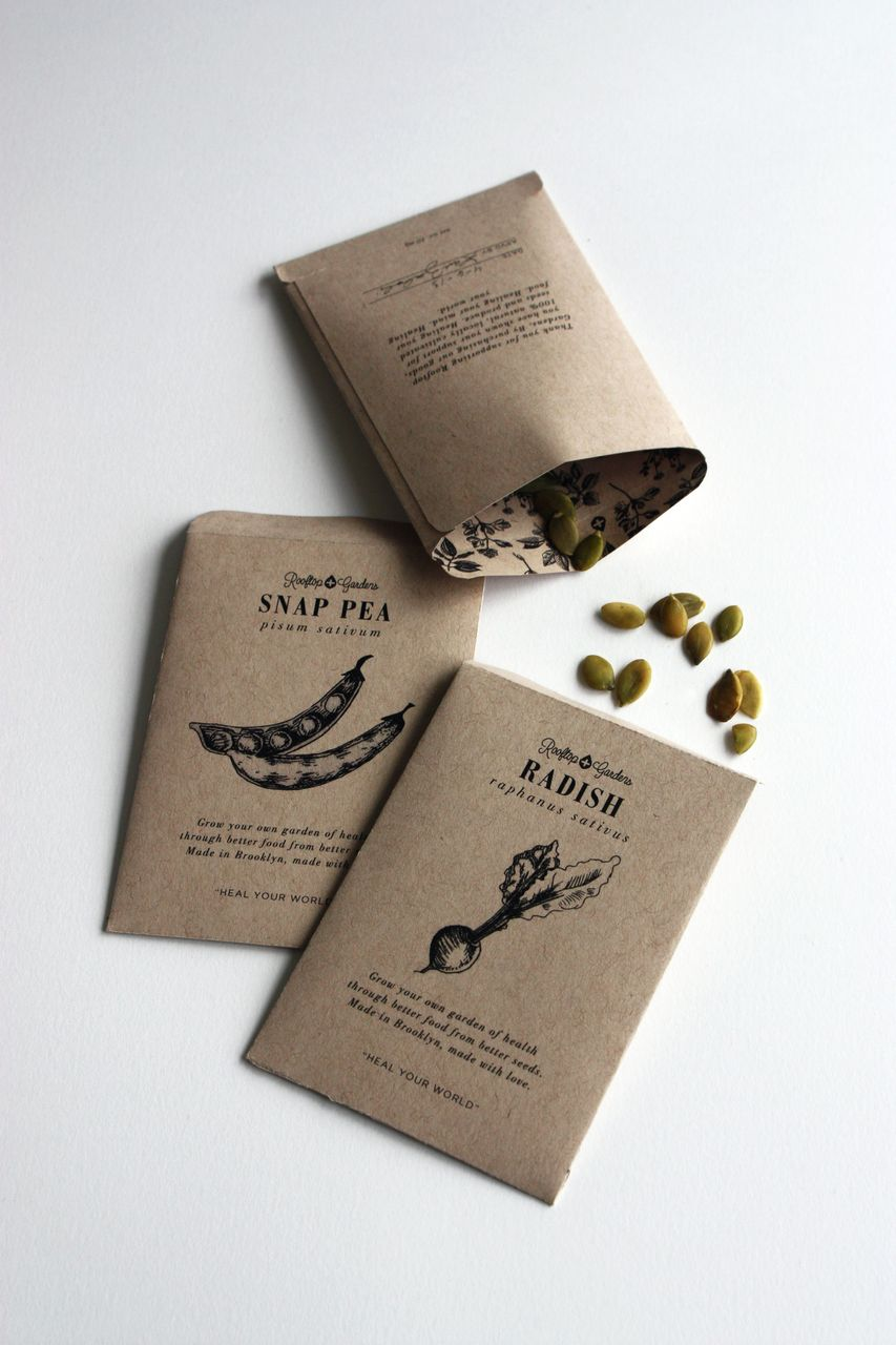 Rooftop Gardens Packaging (Student Project) On Packaging