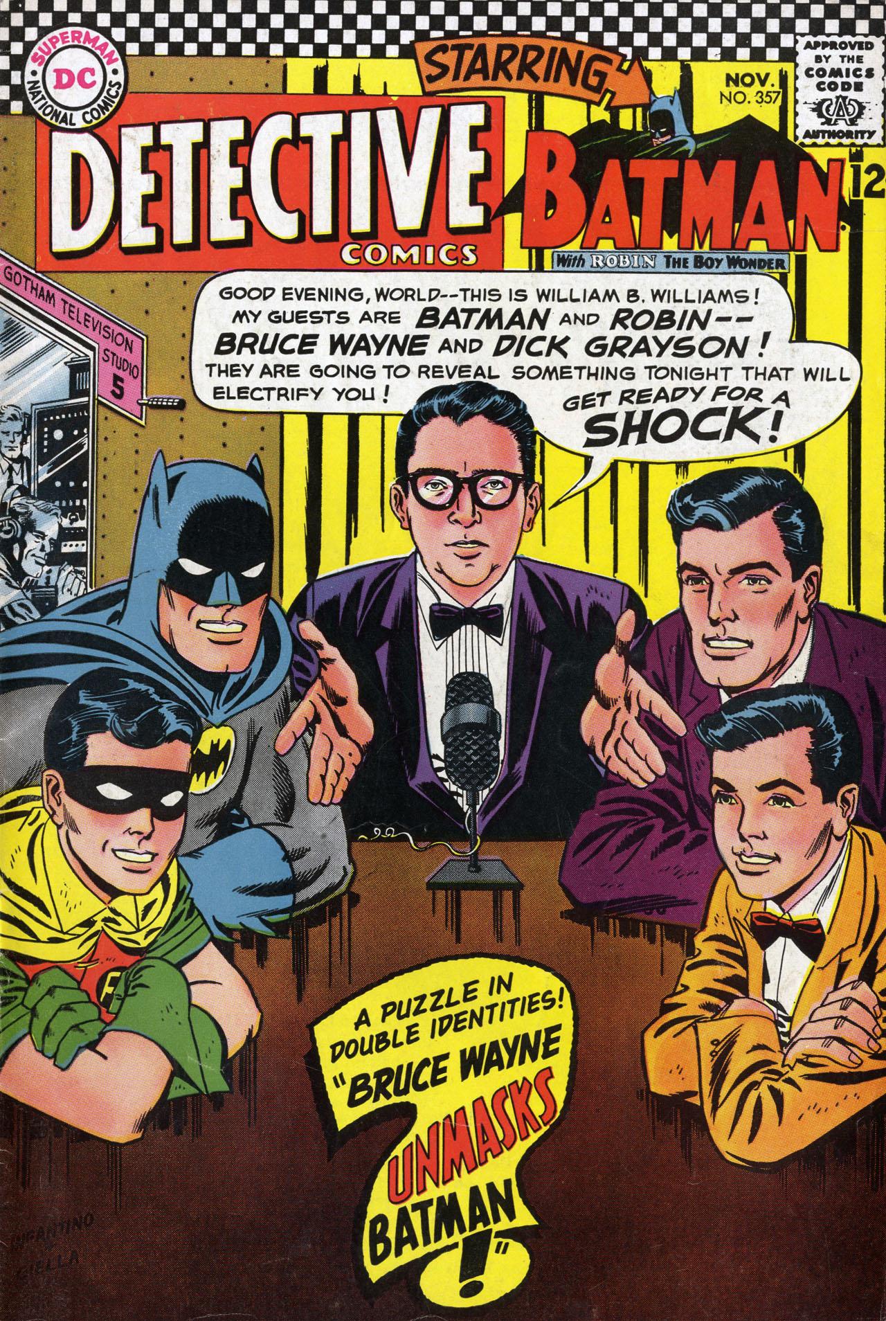 Detective Comics (1937) 357 Page 0
