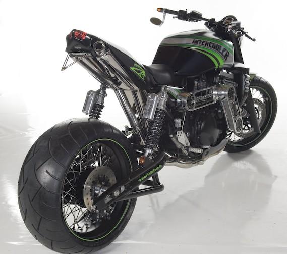 Racing Caf U00e8  Kawasaki Zrx 1100 Kompressor By Rf