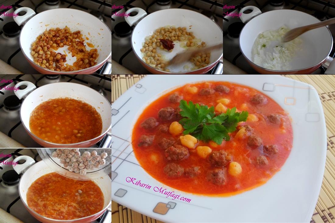 Misket köfteli bezelye yemeği tarifi – Nefis sulu tencere yemekleri yapılışı – Kolay Tarifler
