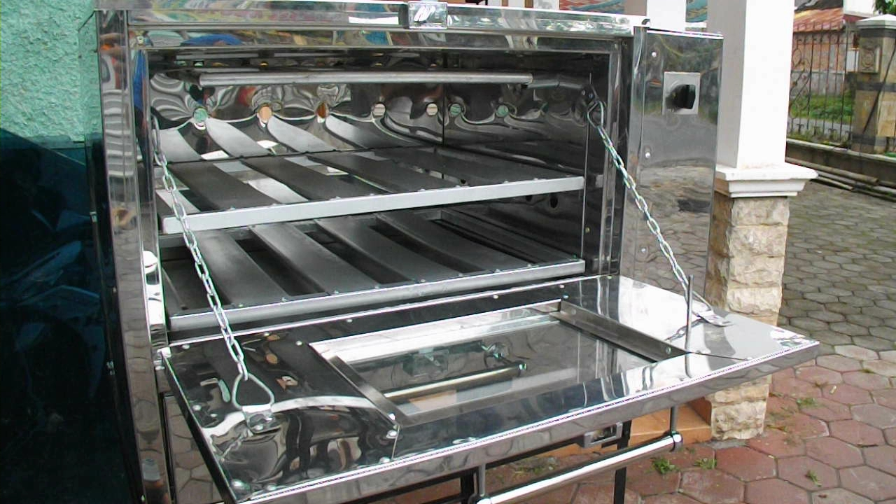 Oven gas stainless pemantik p 75 oven gas no 1 di indonesia for Harga kitchen set stainless