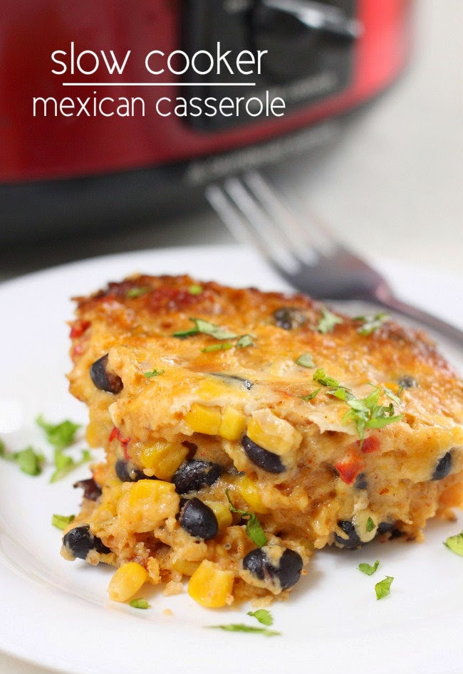 25+ From Scratch Slow Cooker Casserole Recipes for Back to School featured on SlowCookerFromScratch.com