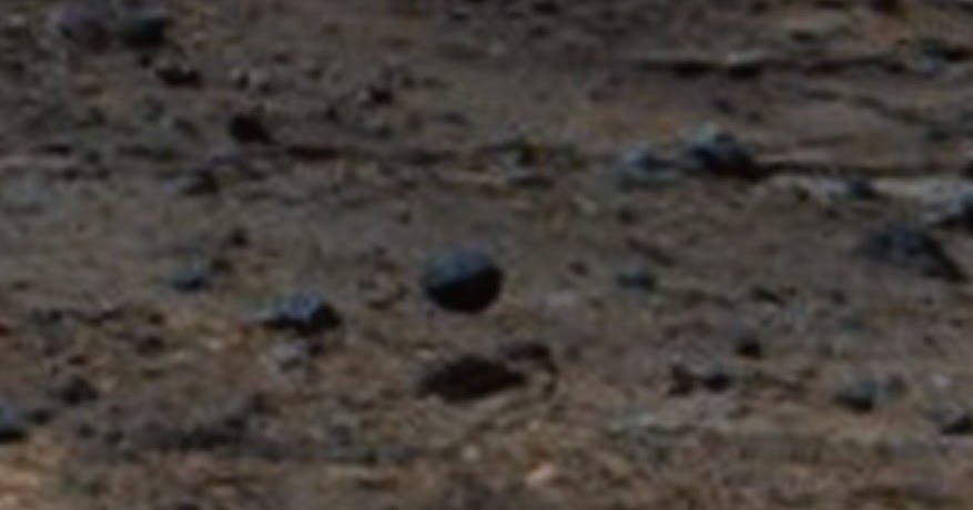 Mars Rover Discovers A Hovering Metal Sphere