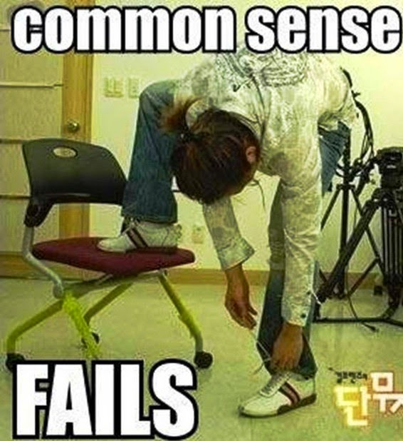 Common Sense Fails : Funny Pic