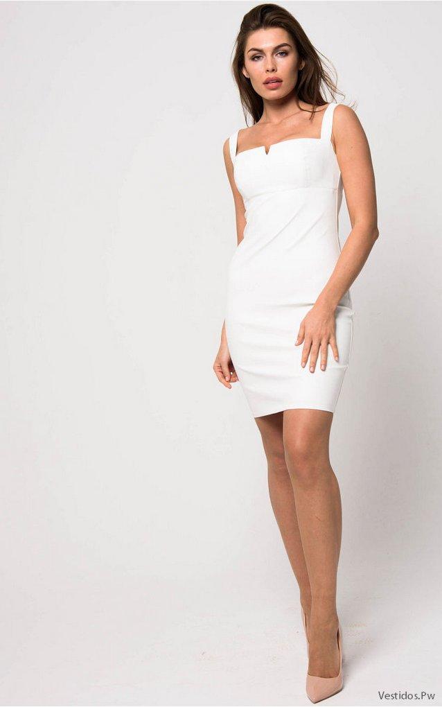 0fb33b626 Vestidos de Fiesta Cortos Blancos ¡19 Ideas Increíbles!