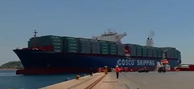 Cosco Shipping Panama inicia tránsito