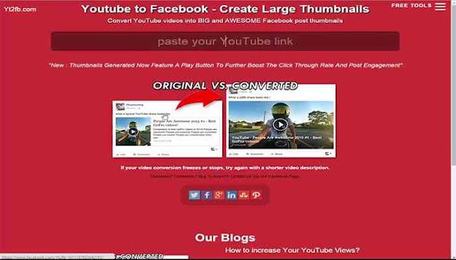 اقوى موقعين لنشر مقاطع اليوتيوب على الفيسبوك كبيرة وبشكل مميز 5