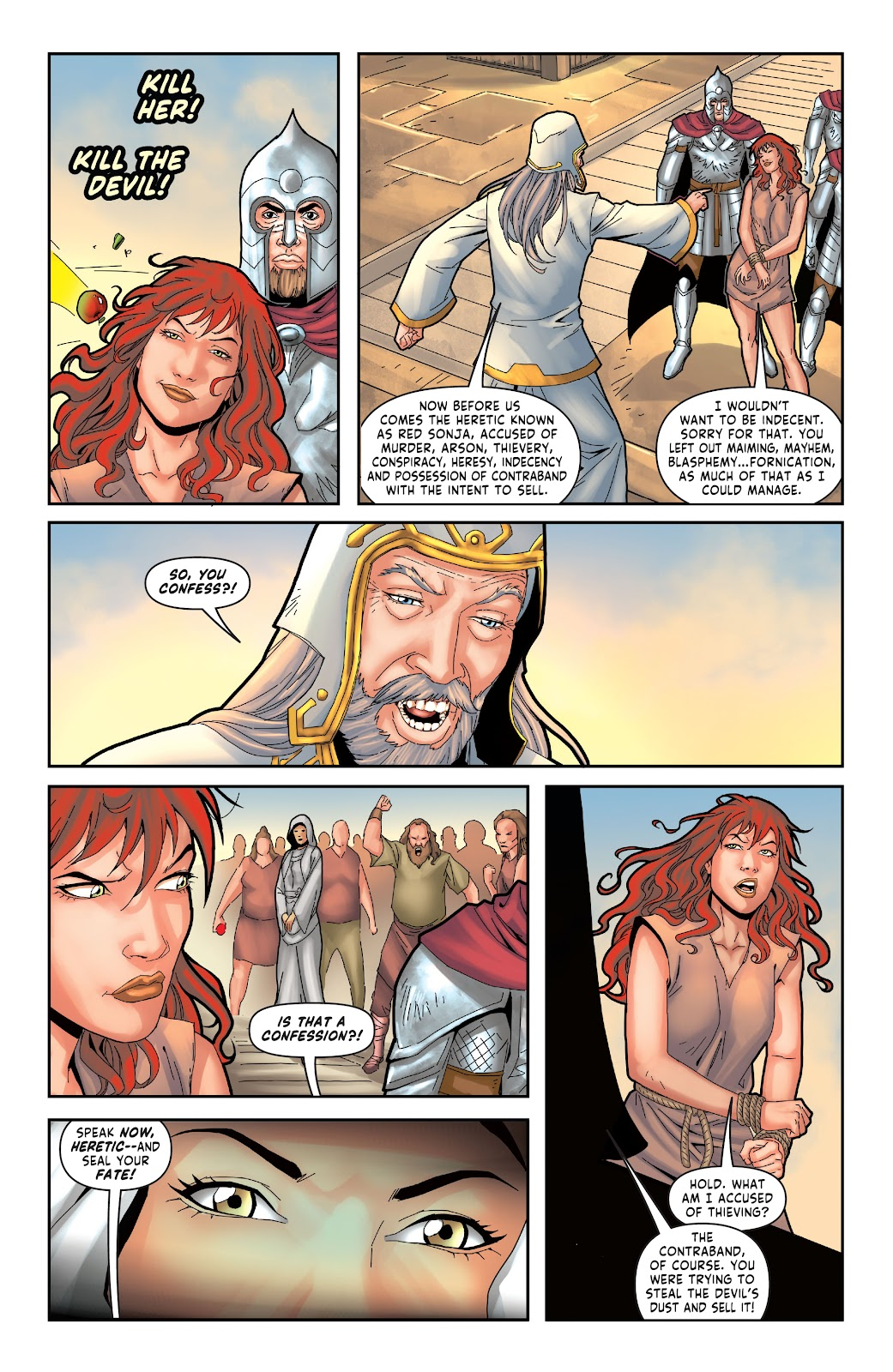 Red Sonja: The Price of Blood issue 3 - Page 21