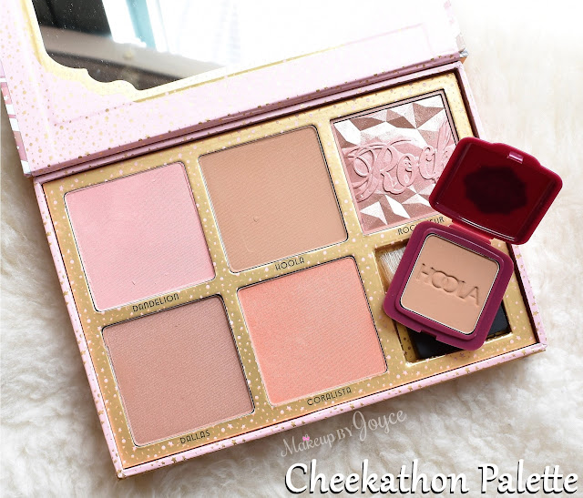 Benefit Cosmetics Cheekathon Blush & Bronzer Palette Review