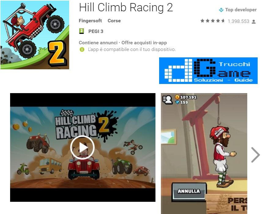 Trucchi Hill Climb Racing 2 Mod Apk Android v1.3.1
