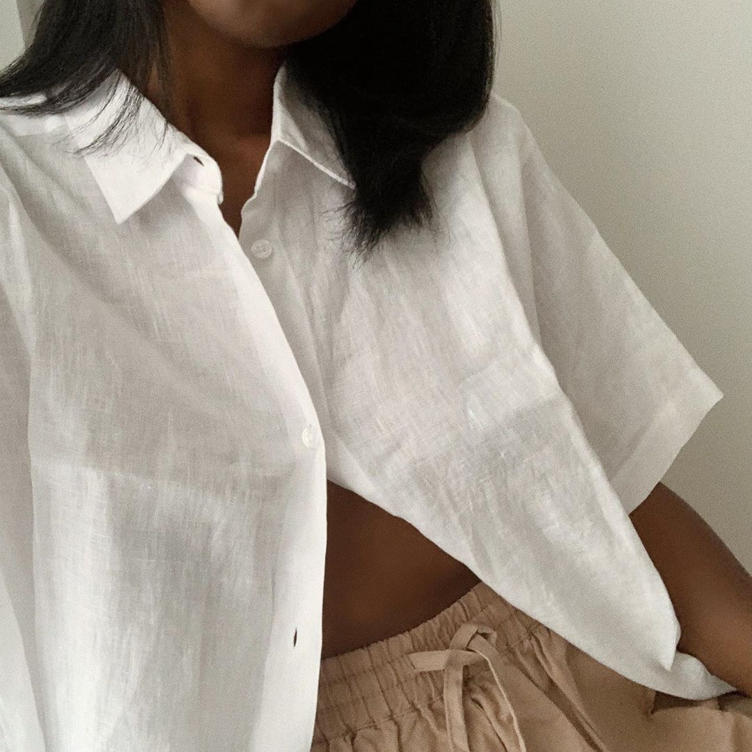 The Linen Shirts I Can't Stop Wearing This Season