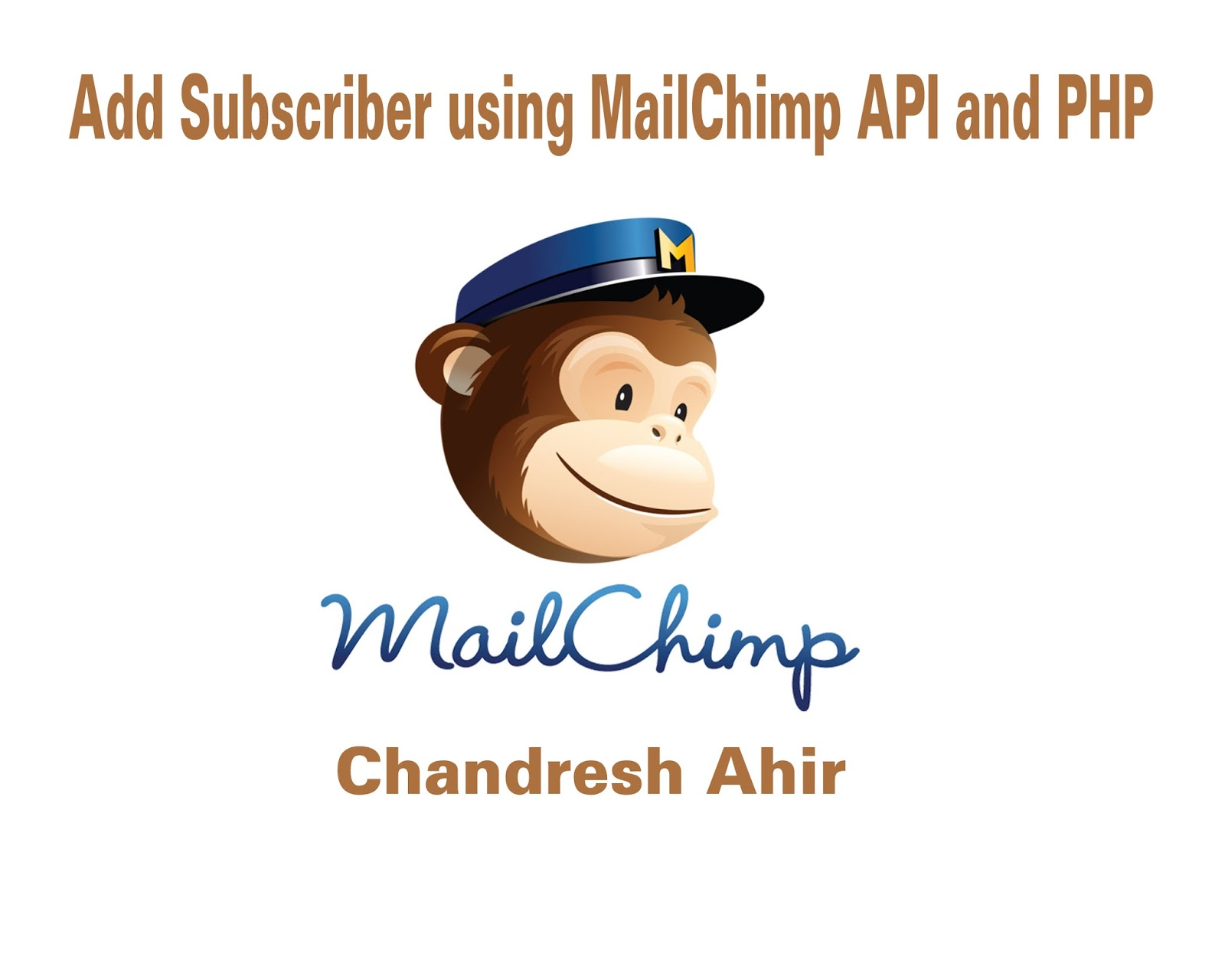 Add subscriber example using mailchimp api and php baditri Images
