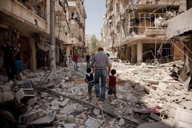 "Surat Kepada Aleppo : ""Tegarlah, Kuatlah """
