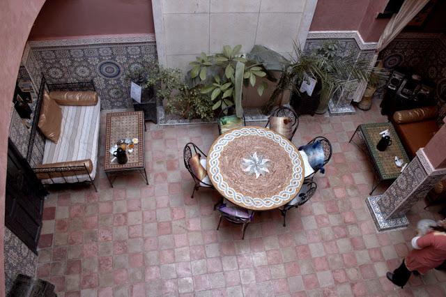 Patio Riad Amskal - Marrakech