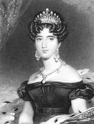 Augusta, Duchess of Cambridge from La Belle Assemblée (1830)