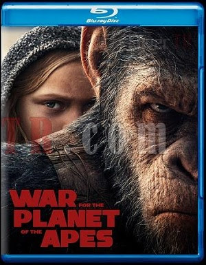 War for the Planet of the Apes 2017 Dual Audio ORG BRRip 480p 250Mb ESub x265 HEVC