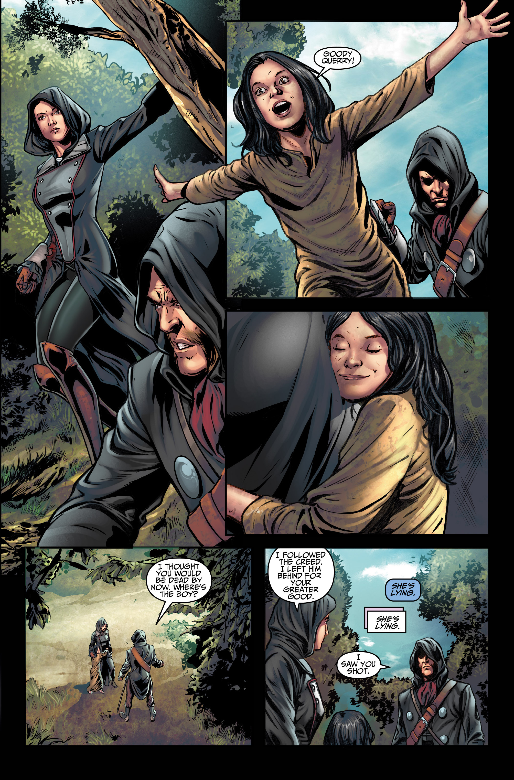 Read online Assassin's Creed (2015) comic -  Issue #3 - 23