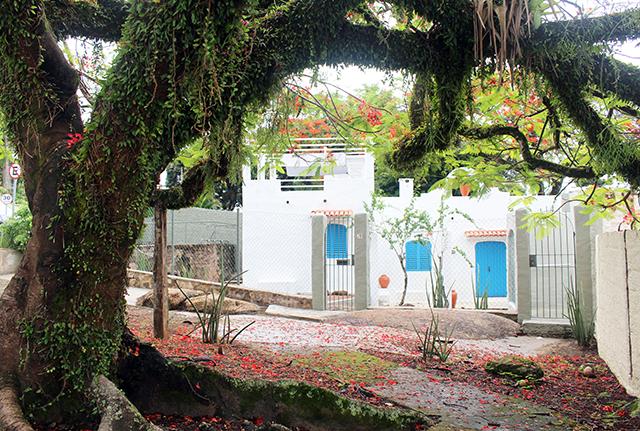 Casa com estilo grego em Ilhabela