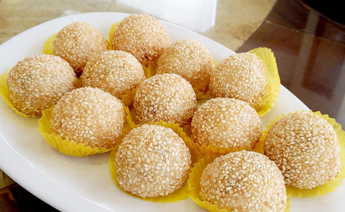 Butchi in Durian filling