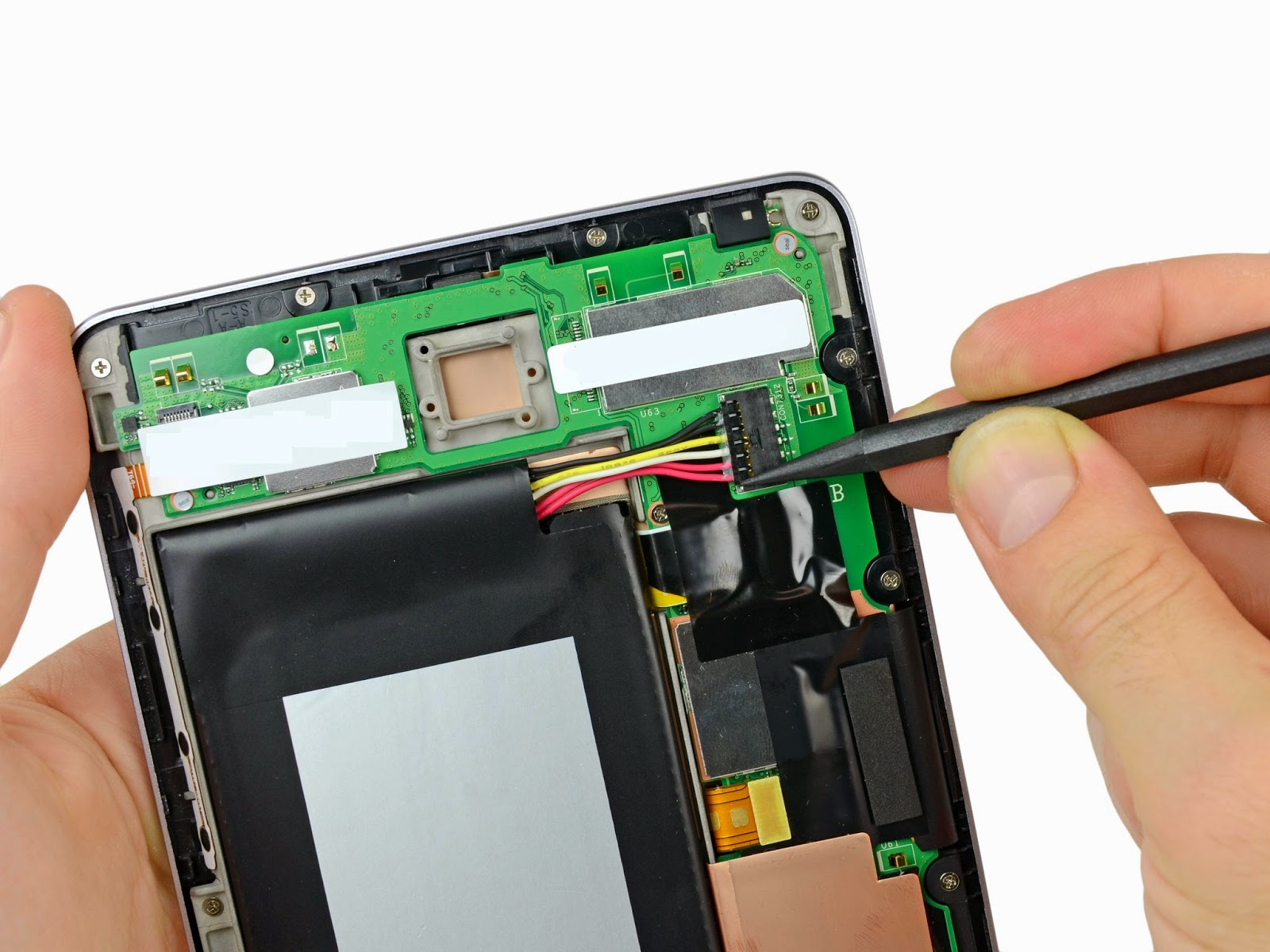 Google Nexus 7 Spare Parts India Tablet Service Center One Digitizer Circuit Broken Touch Screen Display Repair Centre
