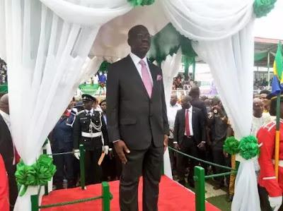 obaseki - EEdo state PDP members will not work with Godwin Obaseki  -Dan Orbih