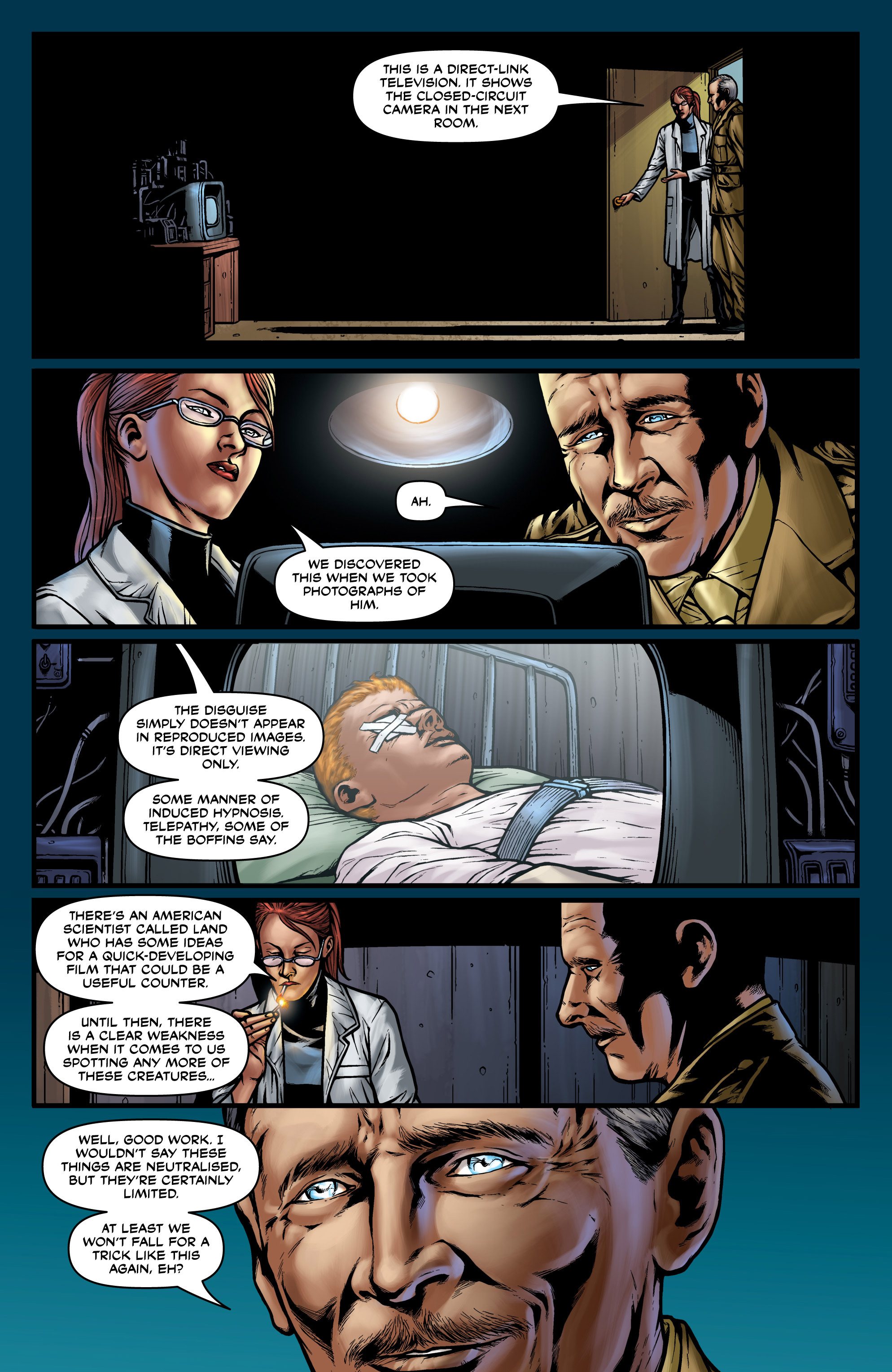 Read online Uber comic -  Issue #22 - 21