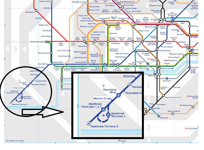 map to heathrow airport
