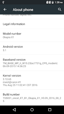 Image result for Okapia X1 Flash File